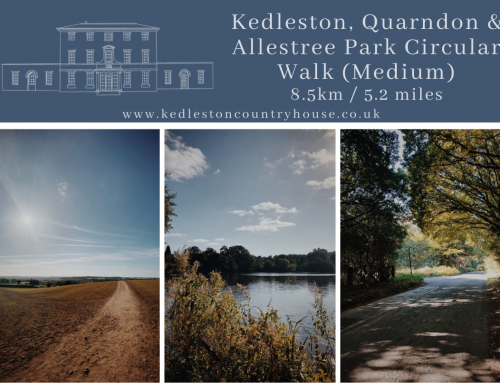 Kedleston, Quarndon & Allestree Park Circular Walk (Medium)