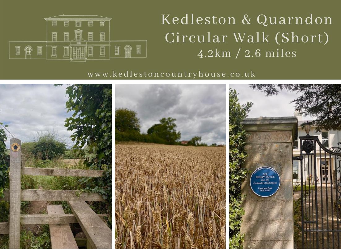 Kedleston & Quarndon Circular Walk (Short)