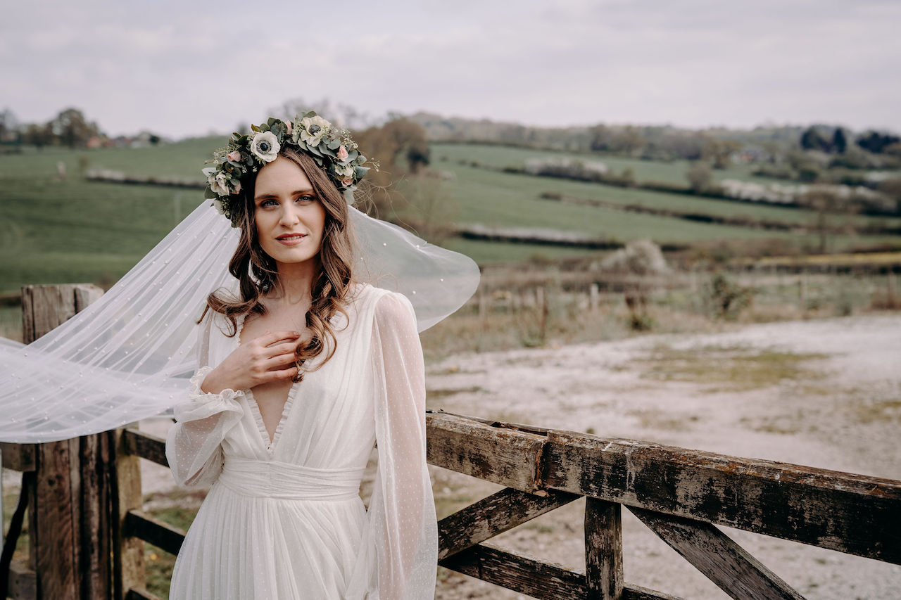 Whimsical Bohemian Bridal Inspiration Shoot